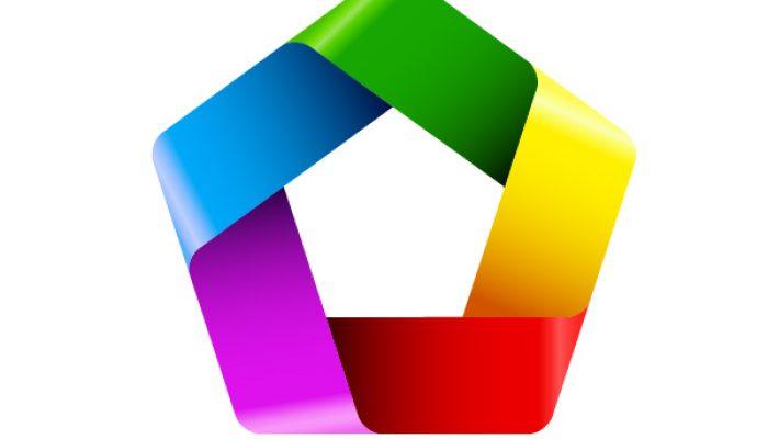 آموزش ساخت یک لوگو رنگی